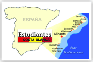 estudiantes mapa