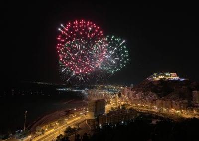 Alicante vuurwerk